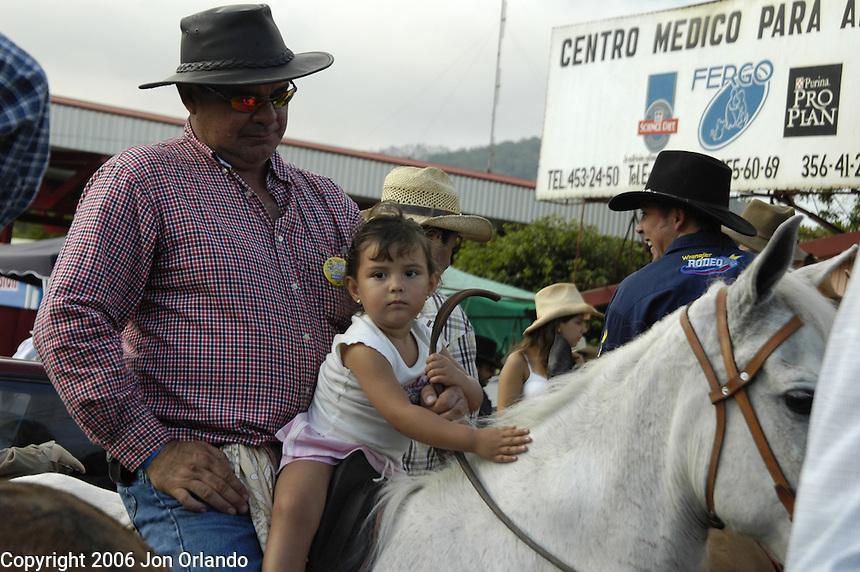 Costa Rican festival.