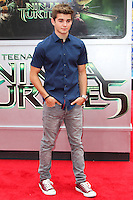 WESTWOOD, LOS ANGELES, CA, USA - AUGUST 03: Jack Griffo at the Los Angeles Premiere Of Paramount Pictures' 'Teenage Mutant Ninja Turtles' held at Regency Village Theatre on August 3, 2014 in Westwood, Los Angeles, California, United States. (Photo by Celebrity Monitor)