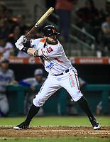 Bryce Everett Bretz de Naranjeros, durante la apertura de la temporada de beisbol de la Liga Mexicana del Pacifico 2017 2018 con el partido entre Naranjeros vs Yaquis. 11 octubre2017 . <br /> (Foto: Luis Gutierrez /NortePhoto.com)