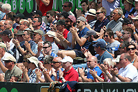 Spectators with one minute of applause in memory of former Essex player Brian Taylor during Essex Eagles vs Nottinghamshire, Royal London One-Day Cup Semi-Final Cricket at The Cloudfm County Ground on 16th June 2017