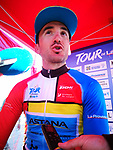 Gorka Izagirre (ESP) Astana Pro Team wins overall by just 13 hundredths of a second at the end of Stage 4 of the 2019 Tour de La Provence, running 173.3km from Avignon to Aix-en-Provence, France. 17th February 2019.<br /> Picture: SHIFT Active Media | Cyclefile<br /> <br /> <br /> All photos usage must carry mandatory copyright credit (&copy; Cyclefile | SHIFT Active Media)