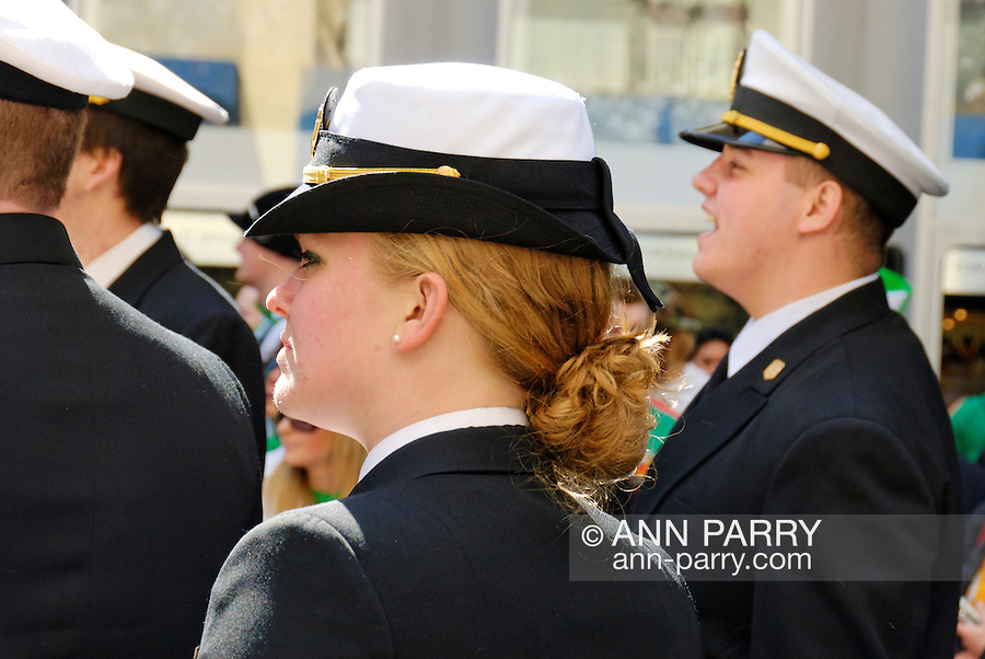 March 17, 2009 - Manhattan, New York - St. Patrick's Day Parade on 5th Avenue, NYC, USA