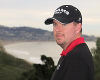 23 JAN 13  Robert Garrigus during The Farmers Insurance Open at Torrey Pines Golf Course in La Jolla, California. (photo:  kenneth e.dennis / kendennisphoto.com)