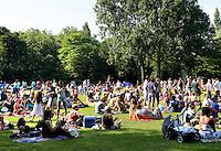 Zonnige dag in een  park