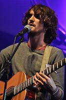 Blair Dunlop, main stage, Kinecroft. Bunkfest 2014. Wallingford. 30.08.2014