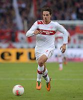 FUSSBALL   1. BUNDESLIGA  SAISON 2012/2013   9. Spieltag   VfB Stuttgart - Eintracht Frankfurt      28.10.2012 Martin Harnik (VfB Stuttgart) am Ball