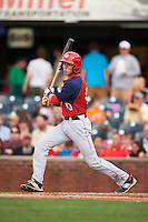 Hagerstown Suns outfielder Alec Keller (40) at bat during a game against the Lexington Legends on May 22, 2015 at Whitaker Bank Ballpark in Lexington, Kentucky.  Lexington defeated Hagerstown 5-1.  (Mike Janes/Four Seam Images)