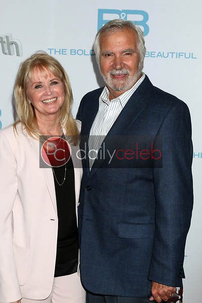 "Laurette McCook, John McCook<br /> at the ""The Bold and The Beautiful"" 30th Anniversary Party, Clifton's Downtown, Los Angeles, CA 03-18-17<br /> David Edwards/DailyCeleb.com 818-249-4998"