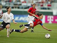 Julie Foudy, USA vs. Germany, 2003 WWC.