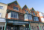 The Merchant's House on the High Street in Marlborough, Wiltshire, England, UK