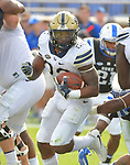 PITTSBURGH, PA, OCT 21: The Pitt football team travels Duke at Wallace Wade Stadium in Durham, North Carolina on October 21, 2017. <br /> Photographer: Pete Madia/Pitt Athletics