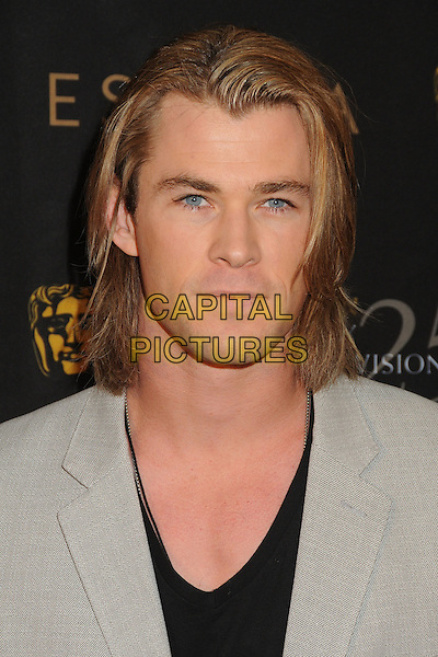 Chris Hemsworth.18th Annual BAFTA Los Angeles Awards Season Tea Party held at the Four Seasons Hotel, Beverly Hills, California, USA, 14th January 2012..portrait headshot grey gray black  .CAP/ADM/BP.©Byron Purvis/AdMedia/Capital Pictures.