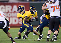 November 12th, 2011:  C.J. Anserson of California rushes through the line of scrimmage during a game against Oregon State at AT&T Park in San Francisco, Ca  -  California defeated Oregon State