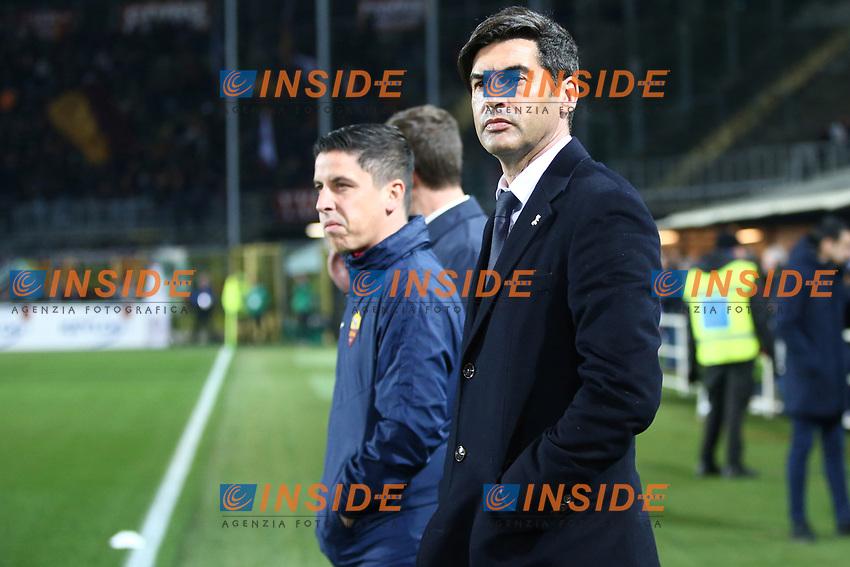 Paulo Fonseca coach of AS Roma <br /> Bergamo 15/02/2020 Stadio Atleti Azzurri d'Italia <br /> Football 2019/2020 Serie A <br /> Atalanta BC - AS Roma <br /> Photo Gino Mancini/Insidefoto