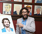 Josh Groan during the Josh Groban Sardi's Portrait Unveiling  at Sardi's on June 2, 2017 in New York City.