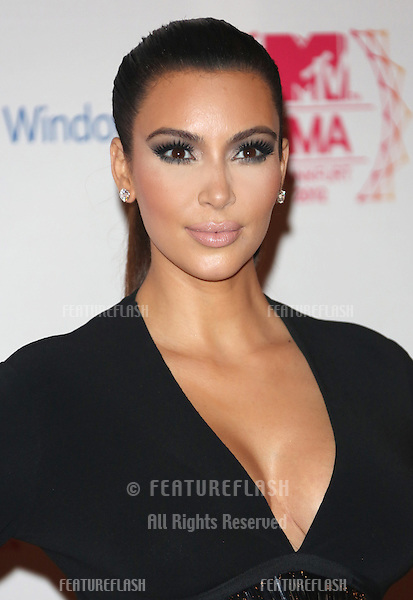 Kim Kardashian arriving for the The MTV EMA's 2012 held at Festhalle, Frankfurt, Germany. 11/11/2012 Picture by: Henry Harris / Featureflash