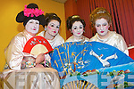 GILBERT AND SULLIVAN: Member's of the Light Opera Society of Tralee who will celebrate their 30th Anniversary Production with a showing of The Mikado by Gilbert and Sullivan at Siamsa Tire on the 2nd to the 5th of March at 8pm l-r: Mary Foley, Sarai Cotter, Cloda Curran and Grainne O'Carroll.