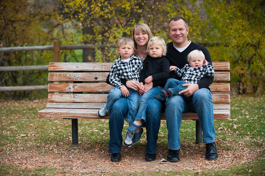11/4/12 - Amanda, Nathan, Ben, Lucy, and Max Adams.