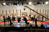 ATENÇÃO EDITOR: FOTO EMBARGADA PARA VEÍCULOS INTERNACIONAIS. SAO PAULO, 24  DE SETEMBRO DE 2012.  ELEIÇÕES  2012 - DEBATE TV GAZETA .  debate promovido pela TV Gazeta e pelo site Terra. ADRIANA SPACA - BRAZIL PHOTO PRESS