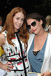 Anna Roth Milner, Lauri Firstenberg==<br /> LAXART 5th Annual Garden Party Presented by Tory Burch==<br /> Private Residence, Beverly Hills, CA==<br /> August 3, 2014==<br /> &copy;LAXART==<br /> Photo: DAVID CROTTY/Laxart.com==