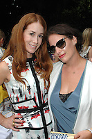Anna Roth Milner, Lauri Firstenberg==<br /> LAXART 5th Annual Garden Party Presented by Tory Burch==<br /> Private Residence, Beverly Hills, CA==<br /> August 3, 2014==<br /> ©LAXART==<br /> Photo: DAVID CROTTY/Laxart.com==