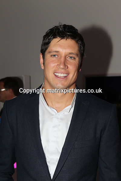 NON EXCLUSIVE PICTURE: TREVOR ADAMS / MATRIXPICTURES.CO.UK<br /> PLEASE CREDIT ALL USES<br /> <br /> WORLD RIGHTS<br /> <br /> English television presenter Vernon Kay attending the CANDY Magazine Autumn/Winter 2013 Launch Party, hosted by Nick Candy at the Saatchi Gallery in King's Road, London.<br /> <br /> OCTOBER 15th 2013<br /> <br /> REF: MTX 136759