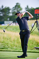 Ryan Palmer (USA) watches his tee shot on 12 during Thursday's round 1 of the 117th U.S. Open, at Erin Hills, Erin, Wisconsin. 6/15/2017.<br /> Picture: Golffile | Ken Murray<br /> <br /> <br /> All photo usage must carry mandatory copyright credit (&copy; Golffile | Ken Murray)