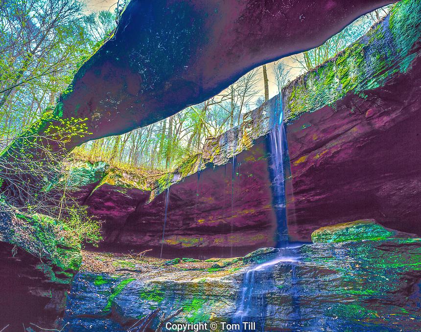 Rock Bridge, Rock Bridge State Preserve, Ohio, Hocking Hills Region