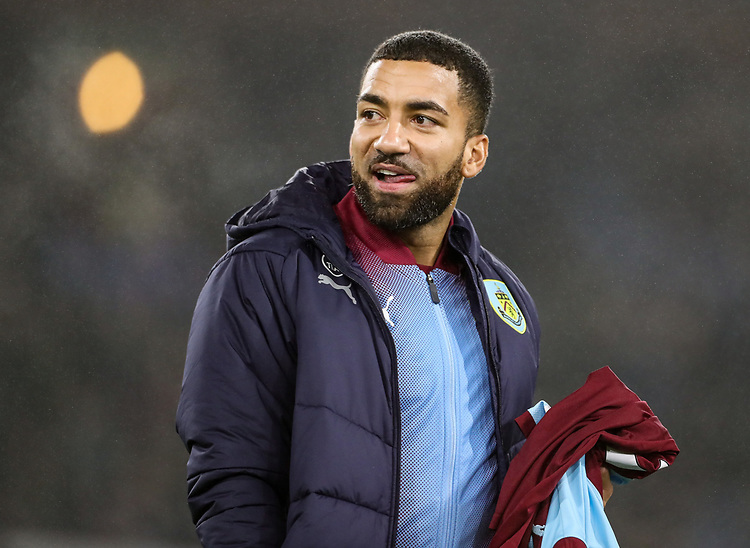 Burnley's Aaron Lennon<br /> <br /> Photographer Andrew Kearns/CameraSport<br /> <br /> The Premier League - Burnley v Liverpool - Wednesday 5th December 2018 - Turf Moor - Burnley<br /> <br /> World Copyright &copy; 2018 CameraSport. All rights reserved. 43 Linden Ave. Countesthorpe. Leicester. England. LE8 5PG - Tel: +44 (0) 116 277 4147 - admin@camerasport.com - www.camerasport.com