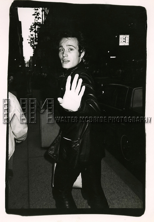 Adam Ant shopping on Madison Avenue in New York City on 9/1/1982