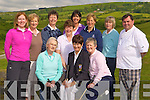 Teeing off at the Castleisland Golf club Presidents drive on Sunday morning was front row l-r: Betty McAullliffe, Babs Kelliher President, Margaret Sheehan. Back row: Liz Downey, Noreen O'Callaghan, Leila Moloney, Liz Galwey, Ann Stuart, Katheen Brosnan and Billy O'Connor
