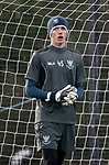 St Johnstone Training&hellip;05.02.19<br />Keeper Ross Sinclair pictured during training this morning at McDiarmid Park ahead of tomorrow&rsquo;s game at Hamilton<br />Picture by Graeme Hart.<br />Copyright Perthshire Picture Agency<br />Tel: 01738 623350  Mobile: 07990 594431