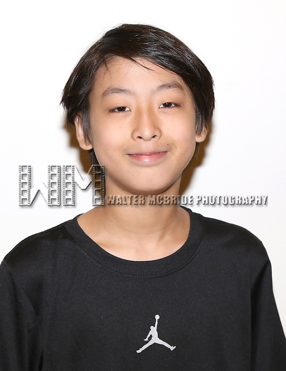 Bradley Fong attends the first day rehearsal for the New Group production of 'Mercury Fur' at the New 42nd Street Studios on July 6, 2015 in New York City.