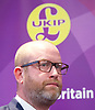 UKIP manifesto launch, Westminster, London, Great Britain <br /> 25th May 2017 <br /> <br /> Paul Nuttall <br /> <br /> Photograph by Elliott Franks <br /> Image licensed to Elliott Franks Photography Services