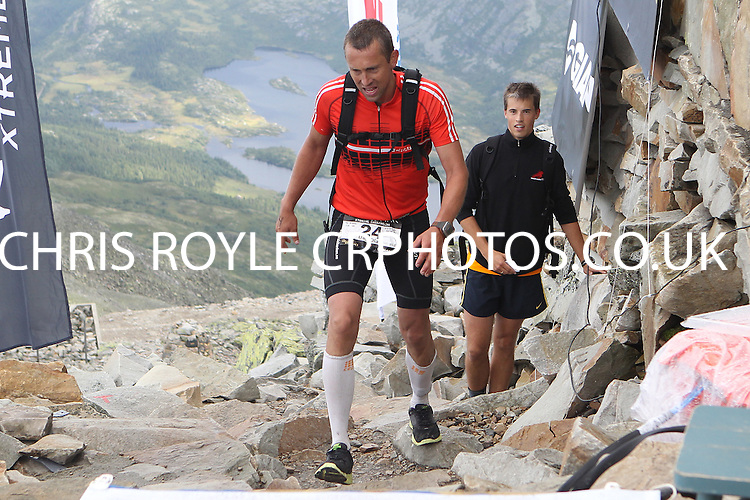 Race number 24 - Dag Olav Tho -  Sunday Norseman Xtreme Tri 2012 - Norway - photo by chris royle / boxingheaven@gmail.com