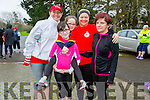 Enjoying the Parkrun on Saturday for  RTE  Operation Transformation were Teresa Grimes, Megan Diggins, Katelyn Diggin, Margaret Wharton, Brenda Diggins