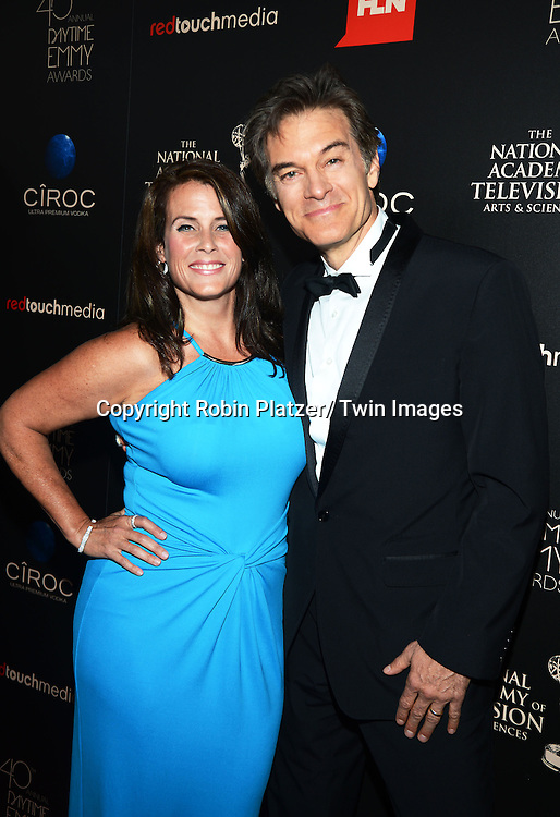 Lisa and Dr Oz attends The 40th Annual Daytime Emmy Awards on  June 16, 2013 at the Beverly Hilton Hotel in Beverly Hills, California.