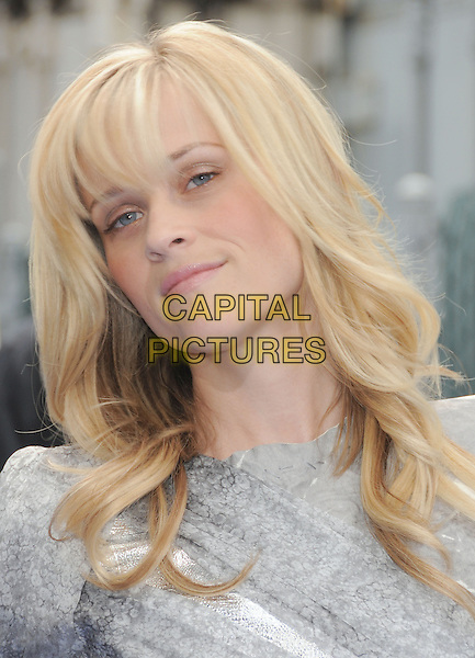 "REESE WITHERSPOON.""Monsters VS. Aliens"" L.A. Premiere held at Gibson Ampitheatre in Universal City, California, USA..March 22nd, 2009                                                                     headshot portrait grey gray silver .CAP/DVS.©Debbie VanStory/Capital Pictures."