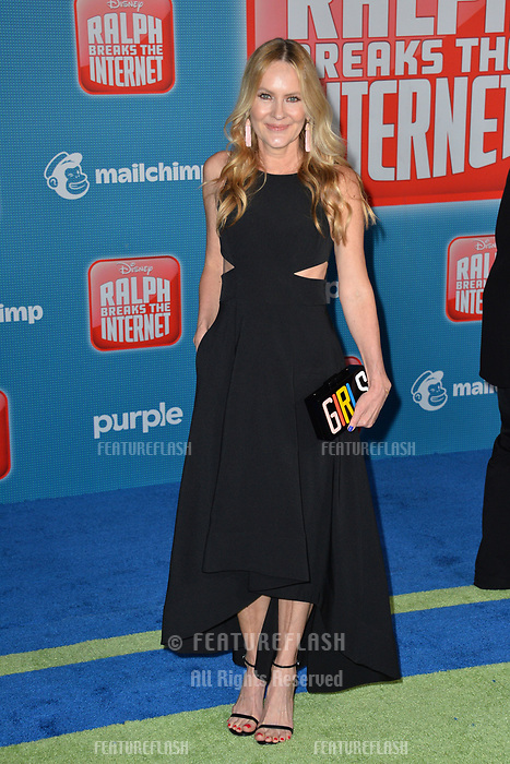 LOS ANGELES, CA. November 05, 2018: Linda Larkin at the world premiere of &quot;Ralph Breaks The Internet&quot; at the El Capitan Theatre.<br /> Picture: Paul Smith/Featureflash