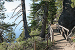 trail along Lake Tahoe at D.L. Bliss State Park
