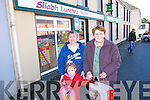 GETTING READY: Mary O'Neill, Mairead Mahony and Margaret Moynihan getting ready to do some Christmas shopping in Rathmore on Friday.   Copyright Kerry's Eye 2008