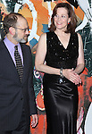 David Hyde Pierce & Sigourney Weaver attending the Opening Night After Party for the Lincoln Center Theater production of 'Vanya and Sonia and Masha and Spike' at the Mitzi E. Newhouse Theater in New York City on 11/12/2012