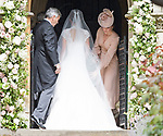 20.05.2017; Englefield, UK: KATE MIDDLETON RETURNS THE FAVOUR<br /> The Duchess of Cambridge acted as Maid of Honour for her sister Pippa in a reversal of her own wedding.<br /> Princess Charlotte and Prince George were flowergirl and page boy respectively at aunt Pippa Middleton's Wedding to James Mathews at St Mark&iacute;s Church, Englefield.<br /> Also present at the church service were the Duke and Duchess of Cambridge, Prince Harry and Princess Eugenie.<br /> Mandatory Photo Credit: &copy;Francis Dias/NEWSPIX INTERNATIONAL<br /> <br /> IMMEDIATE CONFIRMATION OF USAGE REQUIRED:<br /> Newspix International, 31 Chinnery Hill, Bishop's Stortford, ENGLAND CM23 3PS<br /> Tel:+441279 324672  ; Fax: +441279656877<br /> Mobile:  07775681153<br /> e-mail: info@newspixinternational.co.uk<br /> Usage Implies Acceptance of OUr Terms &amp; Conditions<br /> Please refer to usage terms. All Fees Payable To Newspix International
