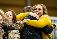Alphen aan den Rijn, Netherlands, December 22, 2019, TV Nieuwe Sloot,  NK Tennis, Final men single: supporters and fans celebrate<br /> Photo: www.tennisimages.com/Henk Koster
