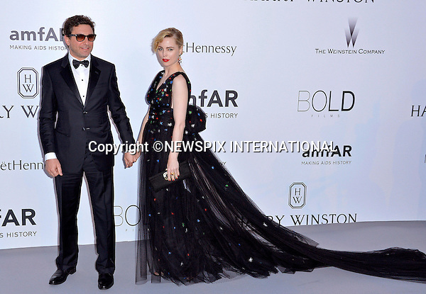 12.05.2015, Antibes; France:  MELISSA GEORGE AND HUSBAND JEAN DAVID BLANC<br /> attend the Cinema Against AIDS amfAR gala 2015 held at the Hotel du Cap, Eden Roc in Cap d'Antibes.<br /> MANDATORY PHOTO CREDIT: &copy;Thibault Daliphard/NEWSPIX INTERNATIONAL<br /> <br /> (Failure to credit will incur a surcharge of 100% of reproduction fees)<br /> <br /> **ALL FEES PAYABLE TO: &quot;NEWSPIX  INTERNATIONAL&quot;**<br /> <br /> Newspix International, 31 Chinnery Hill, Bishop's Stortford, ENGLAND CM23 3PS<br /> Tel:+441279 324672<br /> Fax: +441279656877<br /> Mobile:  07775681153<br /> e-mail: info@newspixinternational.co.uk