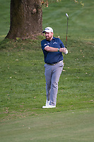 Shane Lowry (IRL) in action on the 17th hole during the second round of the 76 Open D'Italia, Olgiata Golf Club, Rome, Rome, Italy. 11/10/19.<br /> Picture Stefano Di Maria / Golffile.ie<br /> <br /> All photo usage must carry mandatory copyright credit (© Golffile | Stefano Di Maria)