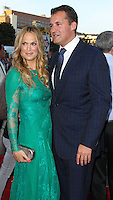 "WESTWOOD, LOS ANGELES, CA, USA - MAY 15: Molly Sims, Scott Stuber at the Los Angeles Premiere Of Universal Pictures And MRC's ""A Million Ways To Die In The West"" held at the Regency Village Theatre on May 15, 2014 in Westwood, Los Angeles, California, United States. (Photo by Xavier Collin/Celebrity Monitor)"