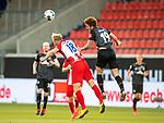 Sebastian Griesbeck (FC Heidenheim, #18), Joshua Sargent (SV Werder Bremen #19),<br /> <br /> GER, FC Heidenheim vs. Werder Bremen, Fussball, Bundesliga Religation, 2019/2020, 06.07.2020,<br /> <br /> DFB/DFL regulations prohibit any use of photographs as image sequences and/or quasi-video., <br /> <br /> <br /> Foto: EIBNER/Sascha Walther/Pool/gumzmedia/nordphoto