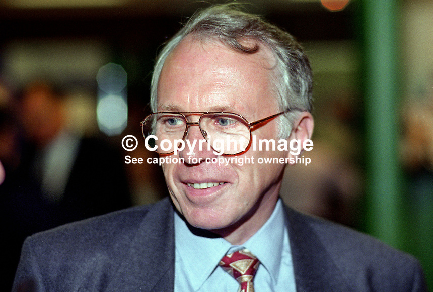 Jeffrey Rooker, MP, Labour Party, UK, 199509017.<br />