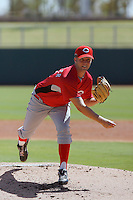 Brad Boxberger - Cincinnati Reds 2009 Instructional League. .Photo by:  Bill Mitchell/Four Seam Images..